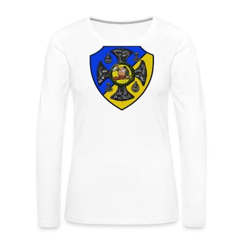 Sv Musmatta - Långärmad premium-T-shirt dam