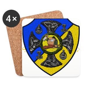 Sv Musmatta - Underlägg (4-pack)