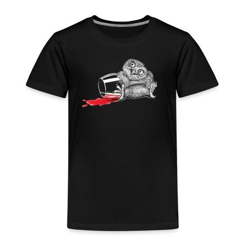 Beschwipste Eule - Kinder Premium T-Shirt