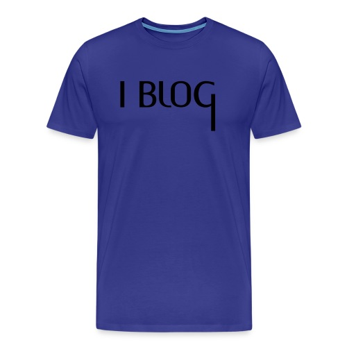 I BLOG + Deine Idee - Männer Premium T-Shirt