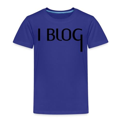 I BLOG + Deine Idee - Kinder Premium T-Shirt