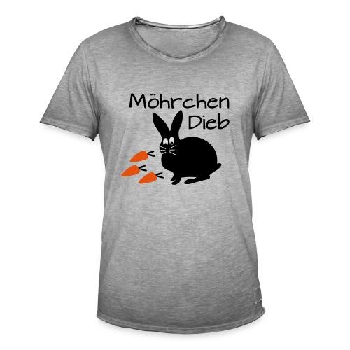 Möhrchen Dieb! - Männer Vintage T-Shirt