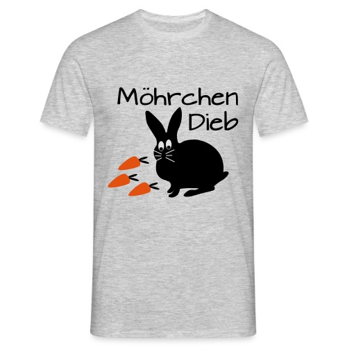 Möhrchen Dieb! - Männer T-Shirt