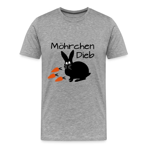 Möhrchen Dieb! - Männer Premium T-Shirt