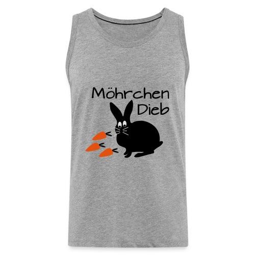 Möhrchen Dieb! - Männer Premium Tank Top