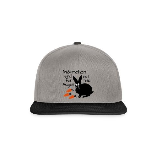 Möhrchen Sind Gut Für Die Augen - Snapback Cap