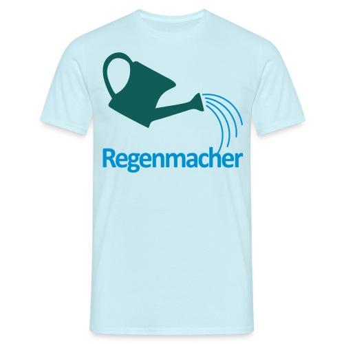 Regenmacher - Die Gießkanne   Gartenmotiv - Männer T-Shirt