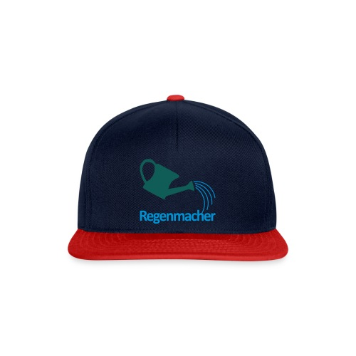 Regenmacher - Die Gießkanne   Gartenmotiv - Snapback Cap