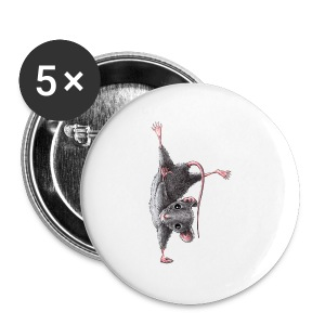 Maus - Hang Loose - Buttons groß 56 mm
