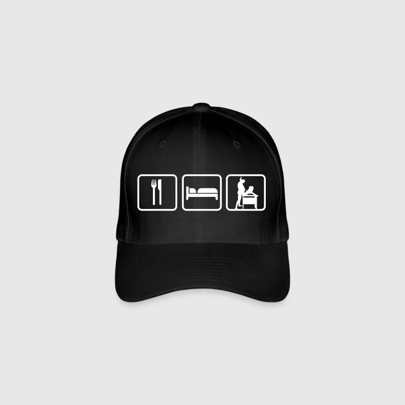 Eat Sleep Sex Caps & Hats - Flexfit Baseball Cap