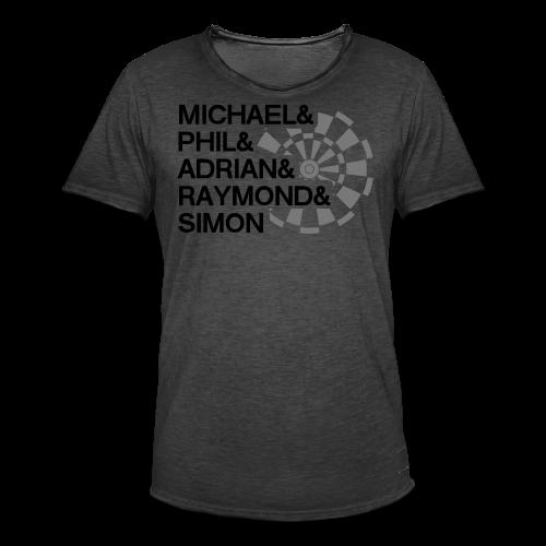 Darts Champions Shirt - Männer Vintage T-Shirt