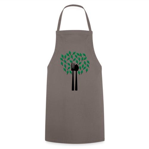 Gärtnerbaum   Gartenmotiv - Kochschürze