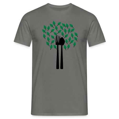 Gärtnerbaum   Gartenmotiv - Männer T-Shirt