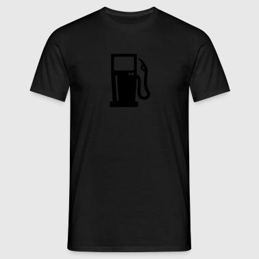 Tankstelle Schürzen - Männer T-Shirt