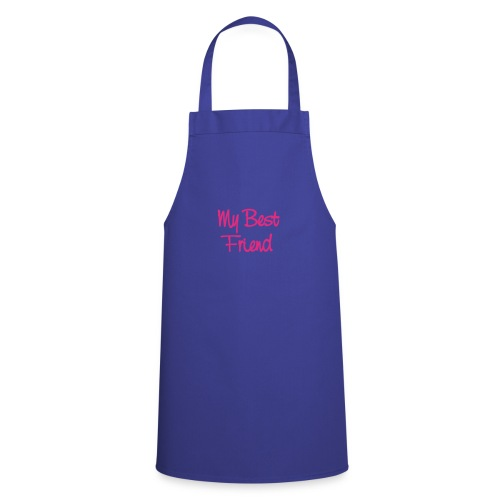 my best friend teddy - Cooking Apron