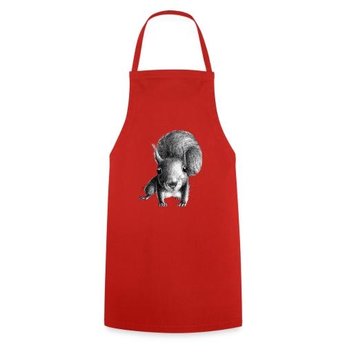 Eichhörnchen - Kochschürze