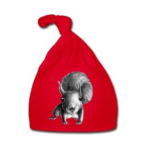Eichhörnchen - Baby Mütze
