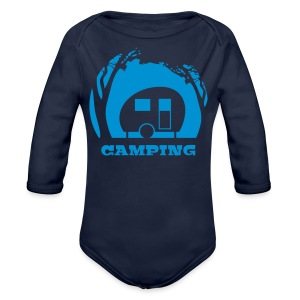 Camping - Longlseeve Baby Bodysuit