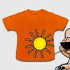 Cooler Hase fährt Fahrrad T-Shirts - Baby T-Shirt