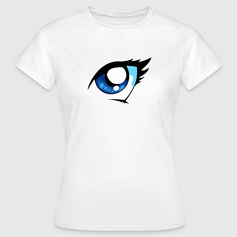 Anime Auge Shirt - Frauen T-Shirt