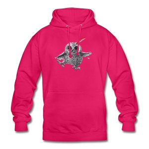Chief Red - Happy Owl - Unisex Hoodie