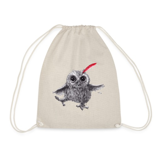 Chief Red - Happy Owl - Turnbeutel