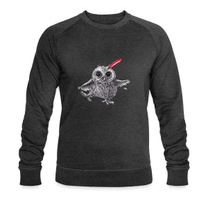 Chief Red - Happy Owl - Männer Bio-Sweatshirt von Stanley & Stella