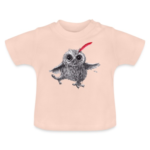 Chief Red - Happy Owl - Baby T-Shirt