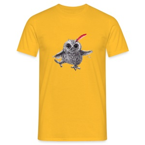Chief Red - Happy Owl - Männer T-Shirt