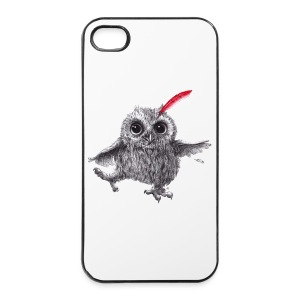 Chief Red - Happy Owl - iPhone 4/4s Hard Case