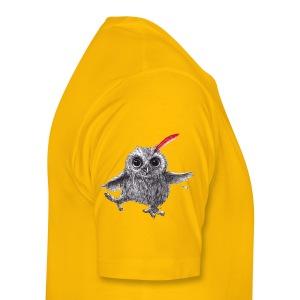 Chief Red - Happy Owl - Männer Premium T-Shirt