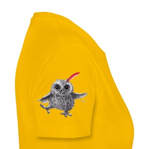Chief Red - Happy Owl - Frauen Premium T-Shirt