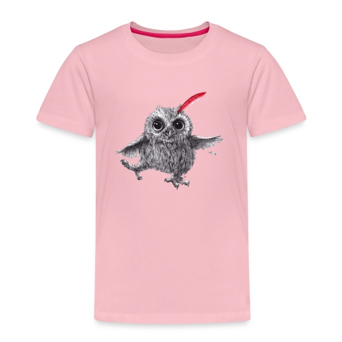Chief Red - Happy Owl - Kinder Premium T-Shirt