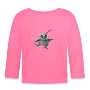 Chief Red - Happy Owl - Baby Langarmshirt