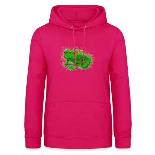 Grasfrosch - Frauen Hoodie