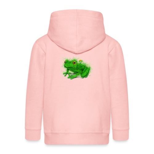 Grasfrosch - Kinder Premium Kapuzenjacke