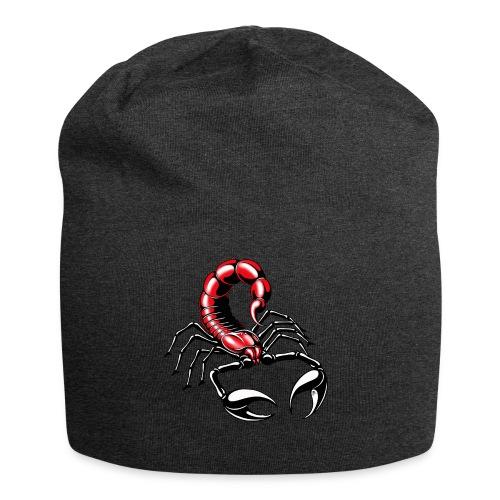 Skorpion - rot - Jersey-Beanie