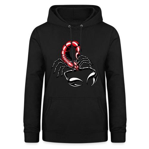 Skorpion - rot - Frauen Hoodie