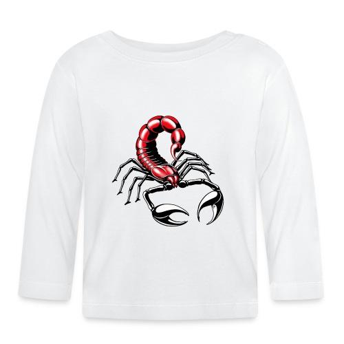 Skorpion - rot - Baby Langarmshirt