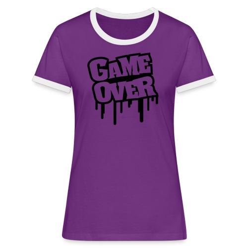 Sweet-Shirt Femme - Geek - T-shirt contrasté Femme