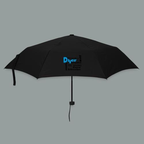 DIVERWORD - Regenschirm (klein)