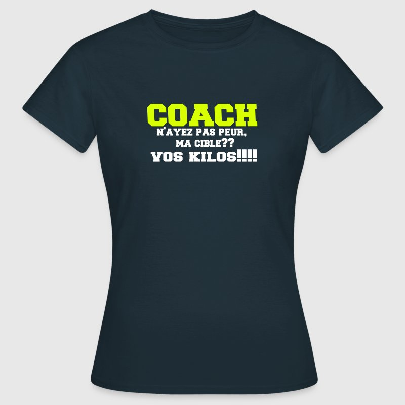 tee shirt coach sportif spreadshirt. Black Bedroom Furniture Sets. Home Design Ideas