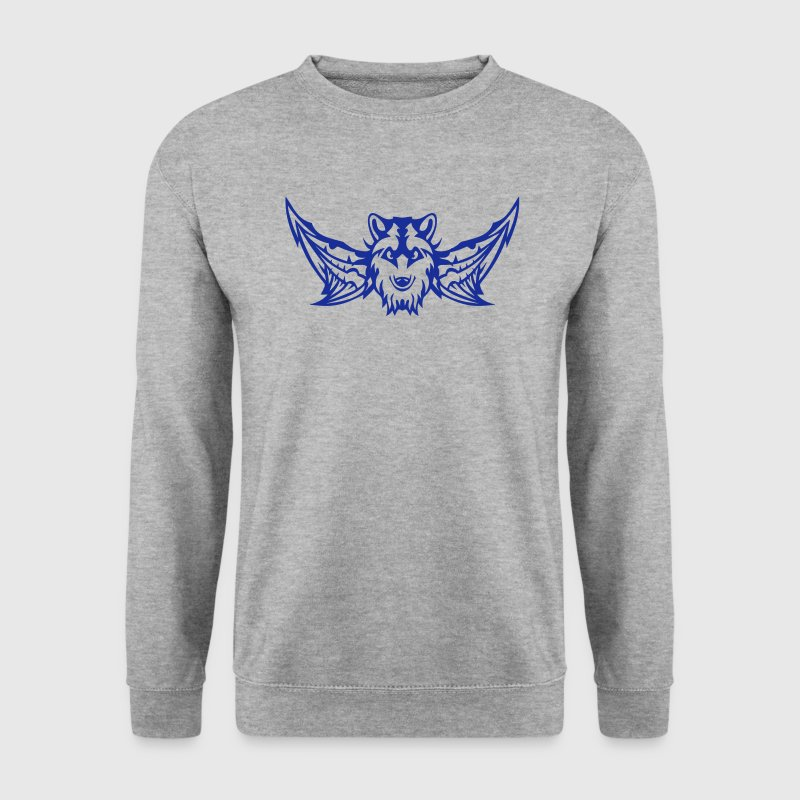 loup aile tete logo aille wing 2409 Sweat-shirts - Sweat-shirt Homme