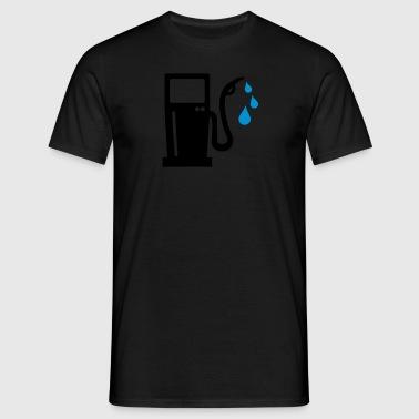 Benzin Schürzen - Männer T-Shirt