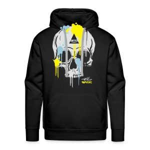 N-Y Skull For Him - Sweat-shirt à capuche Premium pour hommes