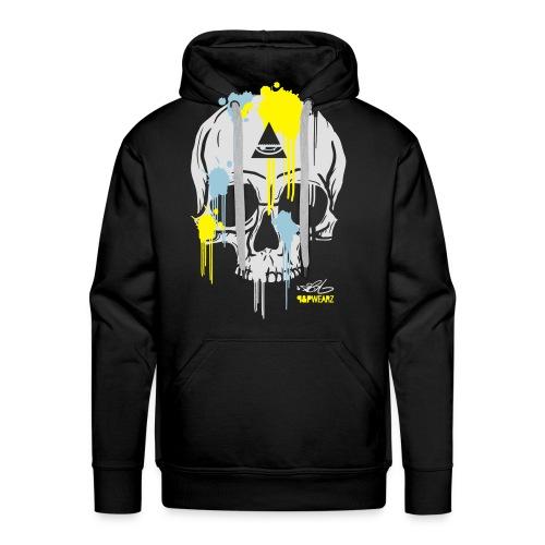 N-Y Skull For Him - Sweat-shirt à capuche Premium pour hommes