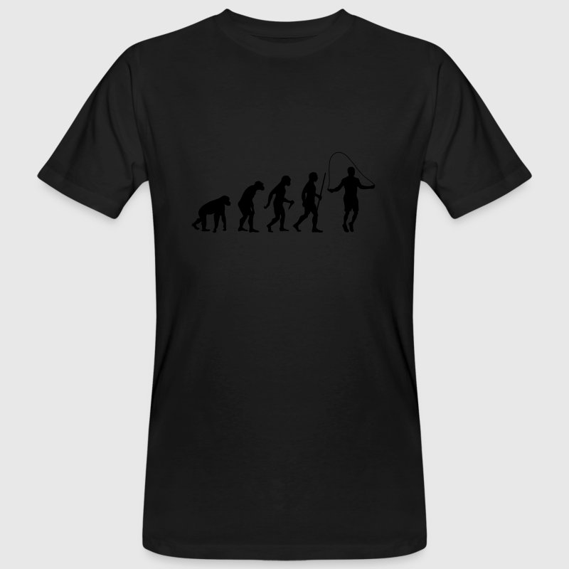 Evolution Rope Skipping T-Shirts - Männer Bio-T-Shirt