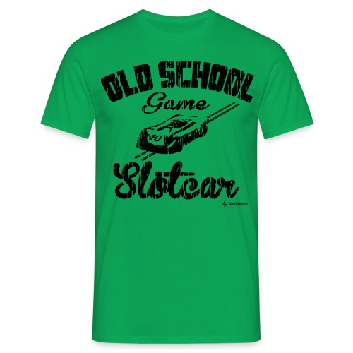 Oldschool game slotcar - T-shirt Homme