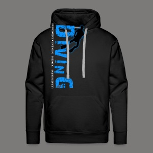 Diving - protects the reefs - Männer Premium Hoodie