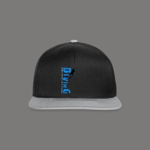 Diving - protects the reefs - Snapback Cap